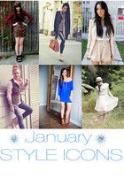January Style Icons