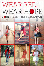Wear Red, Wear Hope: How Fashion Can Help Japan