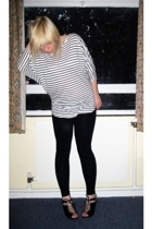 H&M top - dont know leggings - asos shoes