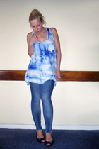 Zara top - Topshop jeans - Office shoes - Diverse accessories