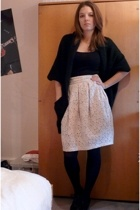 H&M Trend skirt - top - Vero Moda vest - H&M shoes