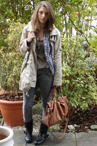 jacket - random ebay store shirt - Zara top - Cheap Monday jeans - ShopLushcom a