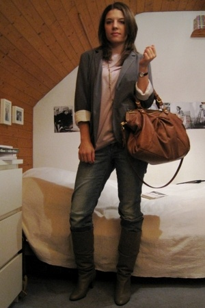 Zara t-shirt - blazer - H&amp;M jeans - Zara shoes - from australia accessories