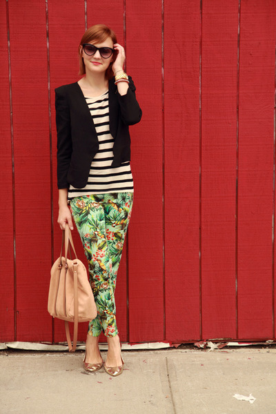 Zara pants - Forever 21 blazer - H&amp;M blouse