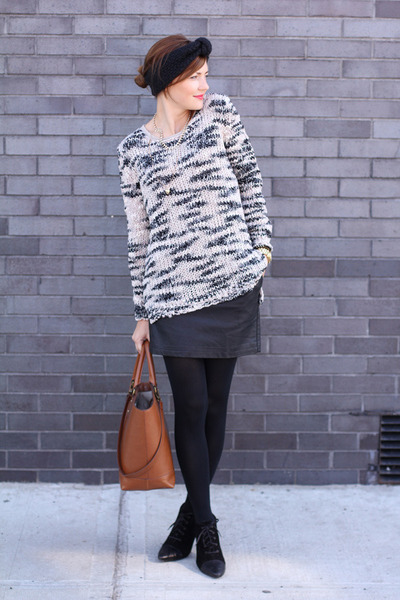Mango sweater - asos skirt