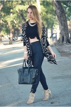 Hot Miami Styles sweater - Celine bag