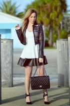 Charlotte Russe dress - Charlotte Russe jacket - Chanel bag