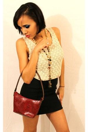 shirt - purse - skirt - necklace