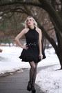 Black-lbd-lookbook-store-dress-black-clutch-oasap-bag