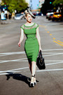 Green-pencil-tatyana-boutique-dress-striped-oasap-hat