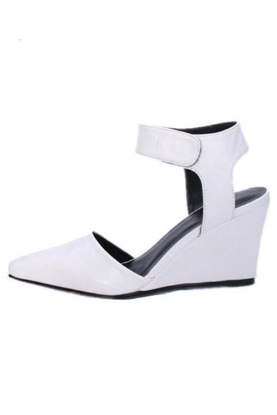 point wedge sandals