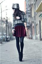 chicnova skirt - chicnova sweater