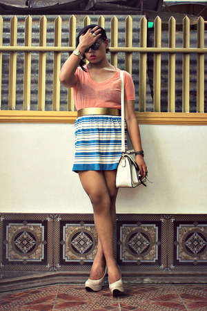 July skirt - Maple shirt - Parkmall bag - Centropelle pumps