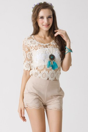 100 cotton Chicwish top