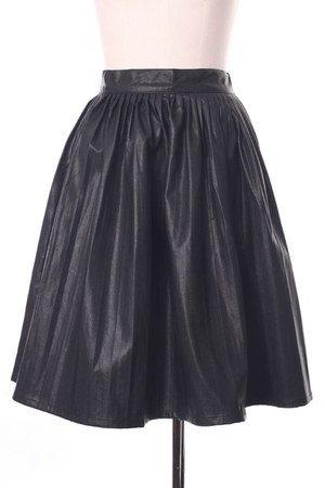 faux leather Chicwish skirt