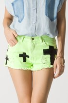 cotton Chicwish shorts