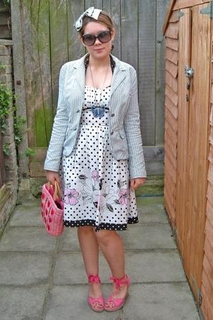 pink River Island shoes - white Ruby Rox dress