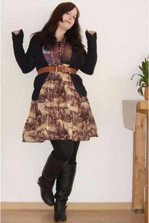 brown Object skirt