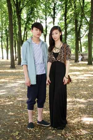 H&M shoes - men H&M shirt - men trousers Zara jumper - men H&M t-shirt - women Z