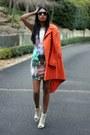 Orange-asos-coat