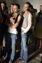 Models in waistcoats
