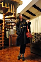MNG coat - leather bag Milano bag
