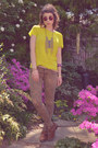 Yellow-neon-jcrew-shirt-brown-urban-outfitters-boots