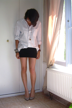 c&amp;a shirt - H&amp;M skirt - Zara shoes - H&amp;M shoes