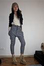 Vintage-blazer-zara-blouse-topshop-pants-ebay-shoes