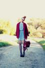 Crochet-awwdore-dress-oversized-choies-coat-romwe-bag-cats-milanoo-wedges
