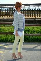 Zara blazer - Zara pants - Zara heels - H&M blouse