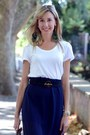 Heather-gray-paravidino-bag-white-h-m-t-shirt-navy-diy-skirt
