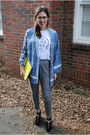 Rebecca-minkoff-bag-kimono-bcbg-top-lovers-friends-t-shirt