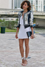 White-bcbg-max-azria-dress-embellished-bcbg-max-azria-jacket