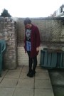 Primark-tights-topshop-shorts-vintage-from-ebay-heels-vintage-t-shirt-eb