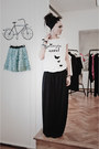 Zara-scarf-ana-novic-pants-coolta-t-shirt