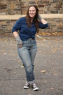 Periwinkle-boyfriend-jeans-navy-husbands-sweater