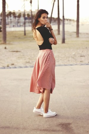 red susisweetdress skirt