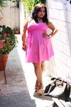 pink H&M dress