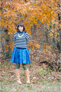 Tan-seychelles-boots-blue-bb-dakota-dress-navy-jcrew-sweater