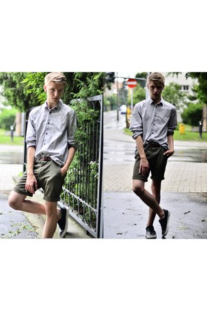 H&M shoes - H&M shirt - H&M shorts - Bershka belt