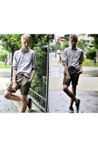 H&M shoes - H&M shirt - H&M shorts - Bershka belt