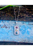 Gemstone Pendant, Personalized Jewelry, Free Engraving, Personalized Necklace