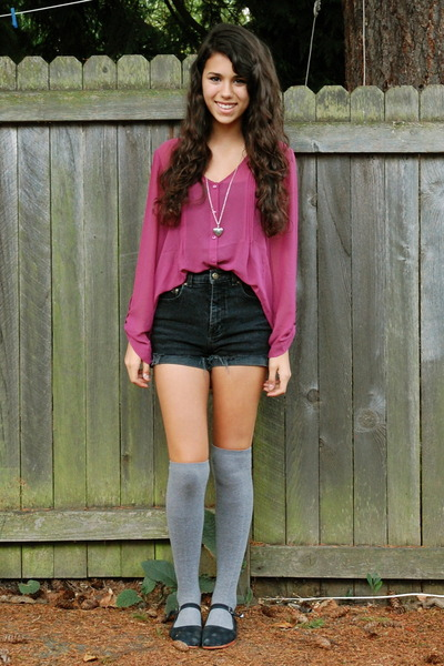 thigh/knee high socks: will you wear them this spring summer?
