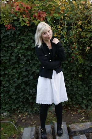 H&M jacket - vintage skirt - Vila top - Givenchy boots