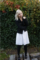 H&M jacket - vintage skirt - Vila top - Givenchy boots