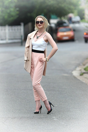 Chicwish blazer - Topshop sunglasses - asos pants