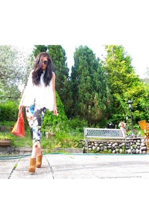 Stradivarius pants - H&M boots - zarra jacket - Mango bag - Mango sunglasses