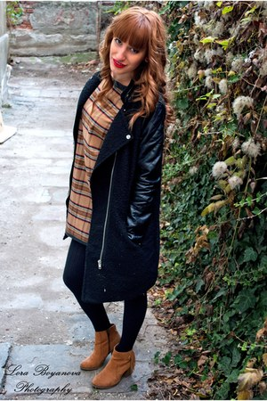 house jacket - Bershka boots - A là Marie dress
