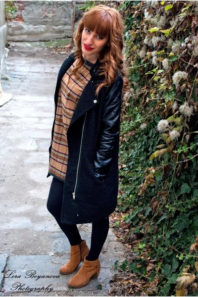 house jacket - Bershka boots - A là Marie dress